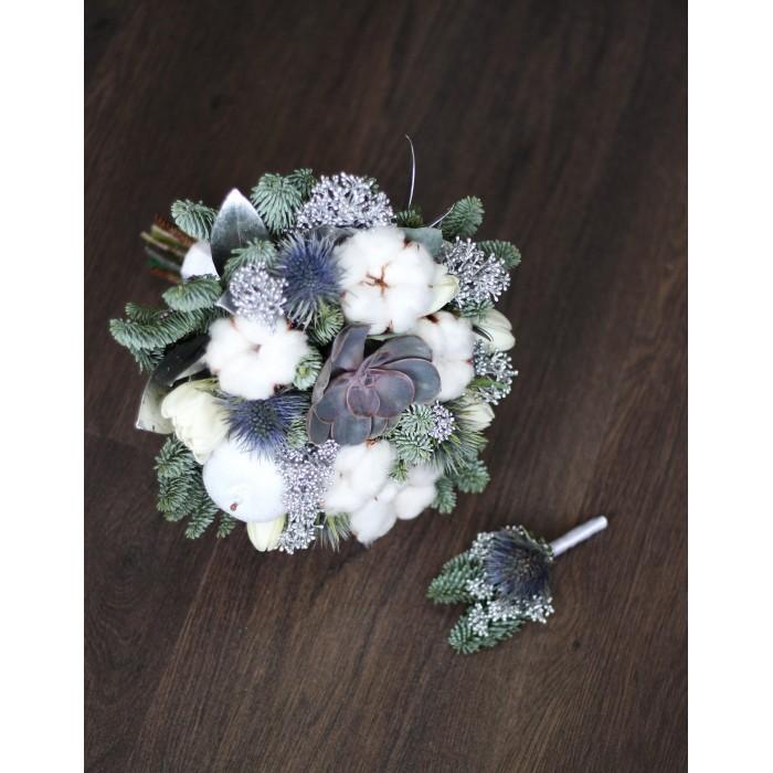 Зимний букет невесты (автор 45)