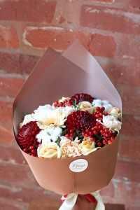 Букет осенний ягодный (автор)