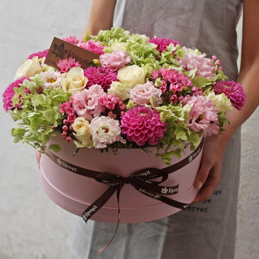 Большая коробка с цветами (автор48)