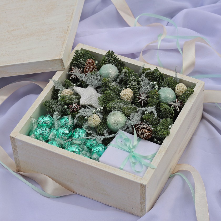 Коробка деревянная Tiffany