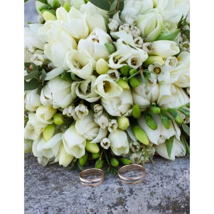 Букет невесты весенний