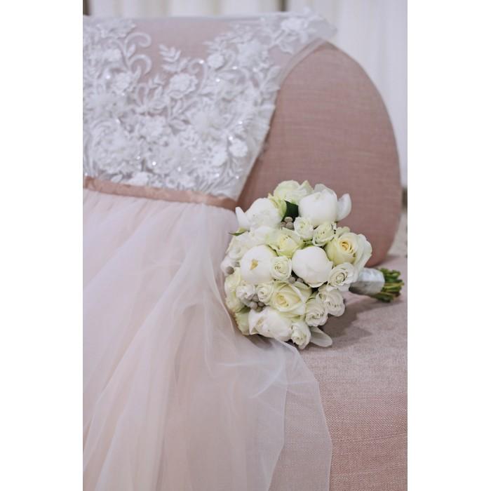 Романтичный букет невесты