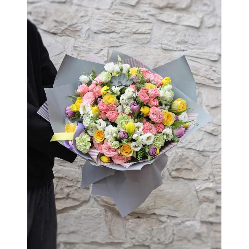 Букет весенних цветов (автор)